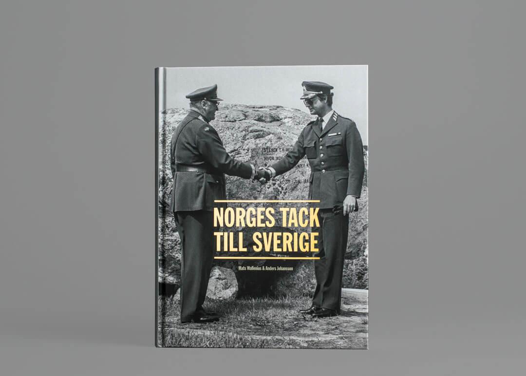 TMG - Norges tack till Sverige - Bok