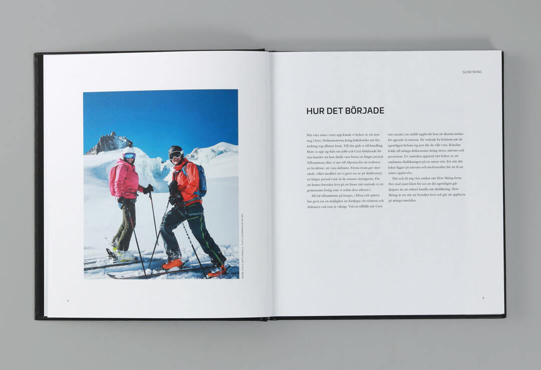 TMG - Showroom - Bok - Slow Skiing