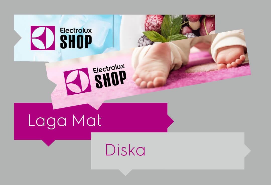 TMG - Showroom - Electrolux Shop - Butiksskyltar